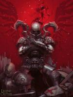 Black armored knight, Ganado advanced v by by snatti89