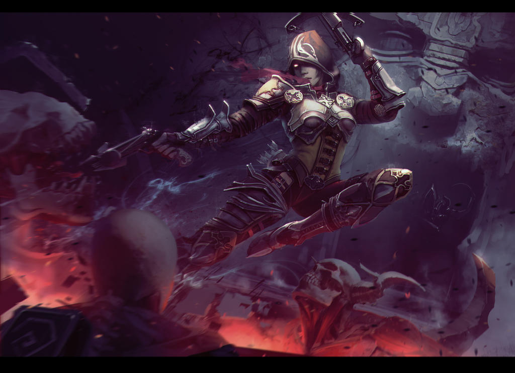 Demon hunter by snatti89 on DeviantArt