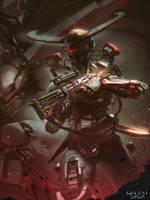 Imperial Army leader Normal V by snatti89