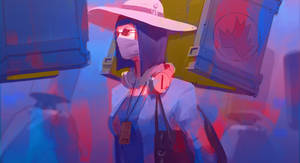 Daily sketch 36 - strange colors by snatti89