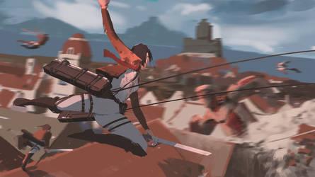 125/365 Attack on titan by snatti89