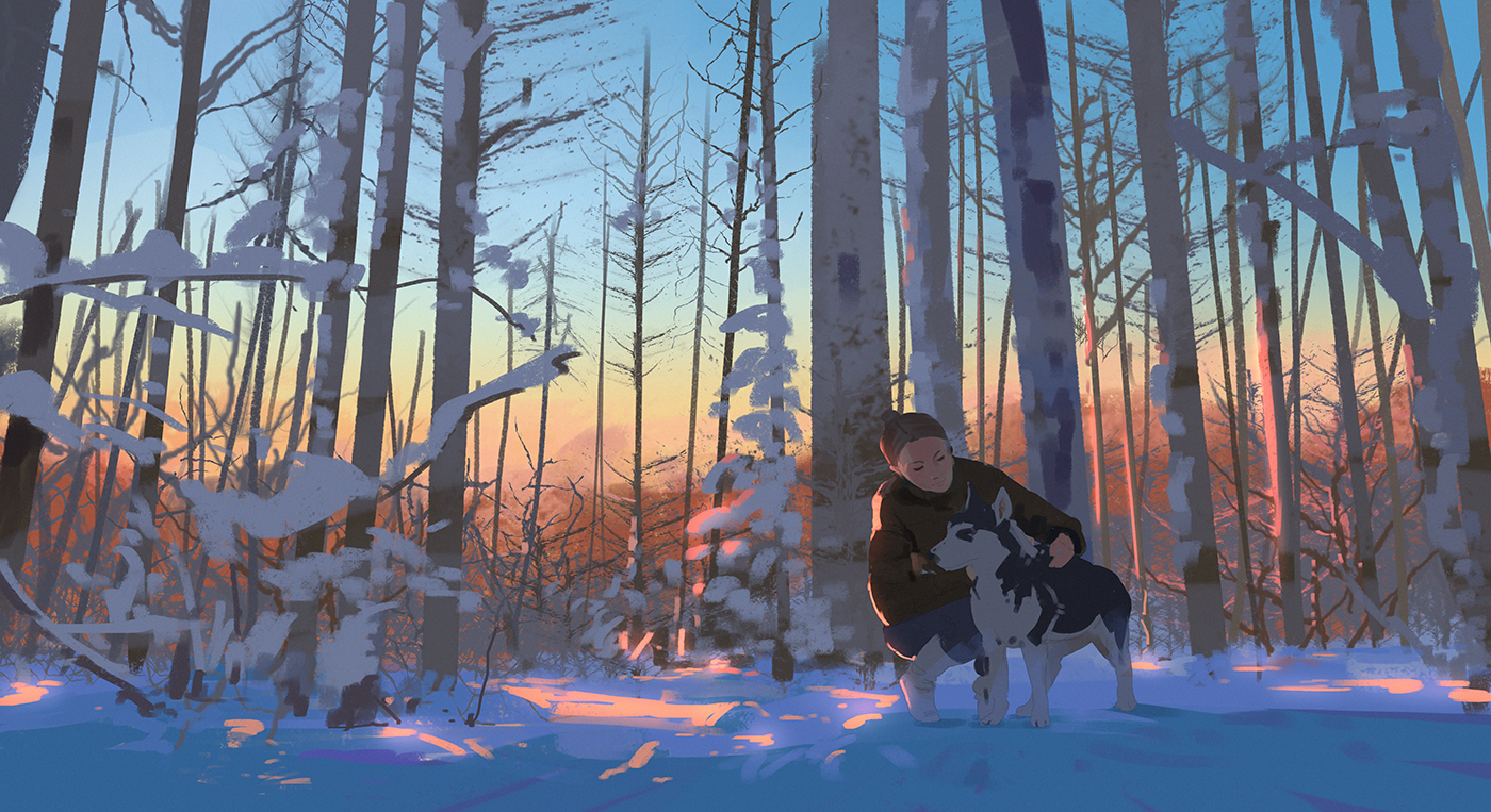 126/365 Winter hike by snatti89