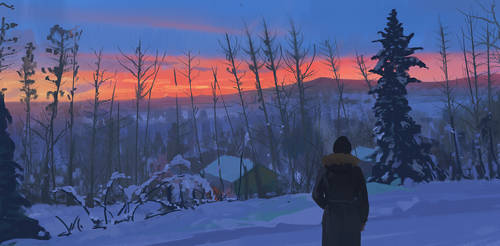 131/365 Sunset