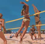 155/365 Volleyball smash