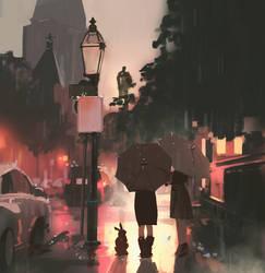 161/365 rainy days
