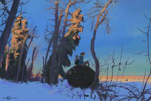 206/365 Path of Miranda_Outskirts by snatti89