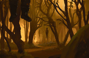 232/365 Yellow forest by snatti89