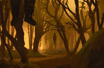 232/365 Yellow forest