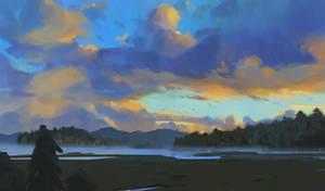 266/365 Blue sky