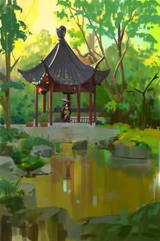 349/365 Japanese garden