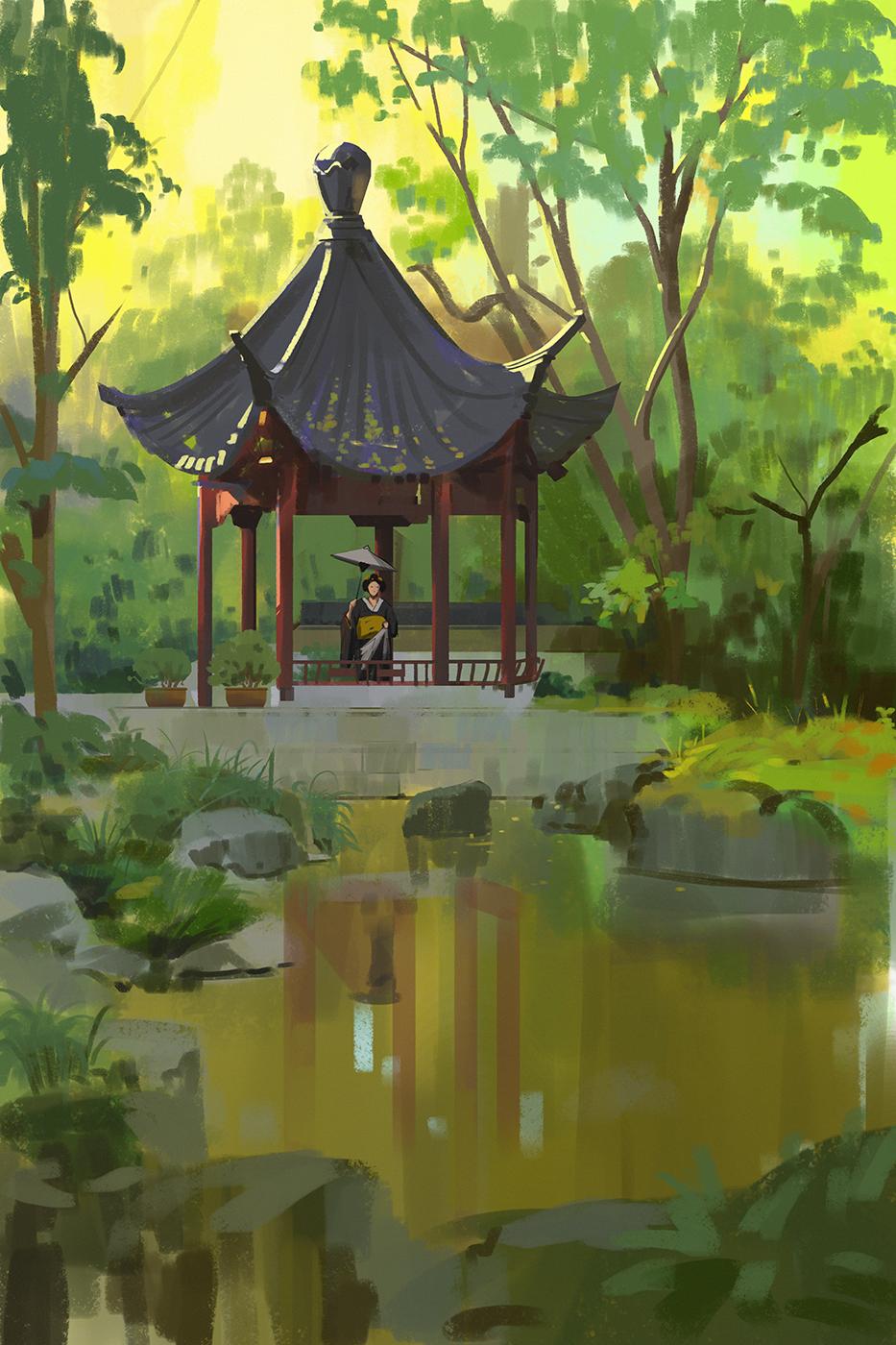 349 365 Japanese Garden By Snatti89