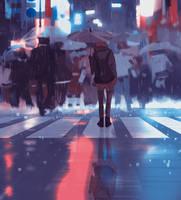 Urban life by snatti89