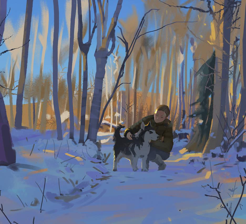 Winter Walk by snatti89