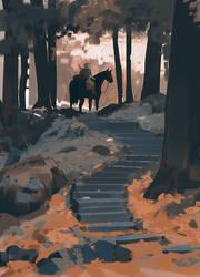 Zelda breath of the wild by snatti89