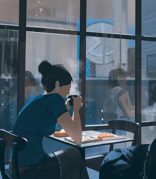 Morning coffe by snatti89