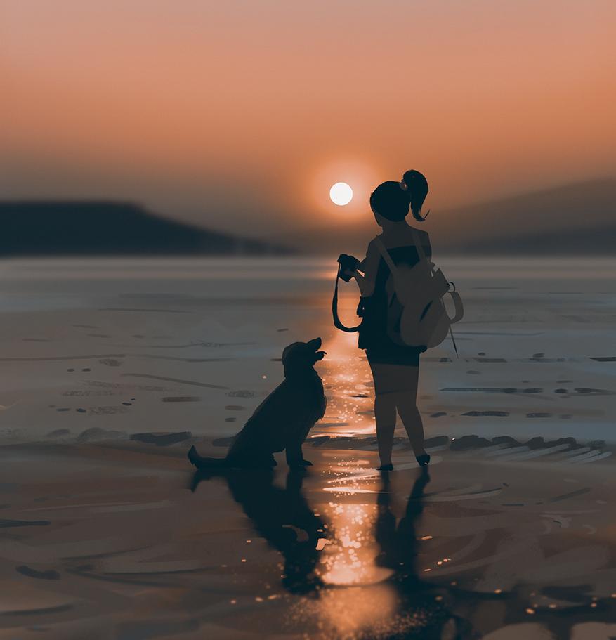 Sunset by snatti89
