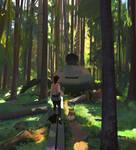 Path of Miranda Forest walk