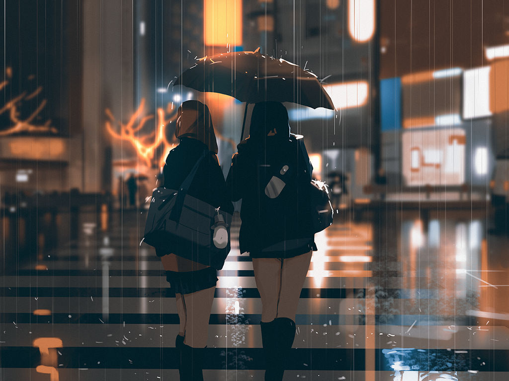Rainy weather by snatti89