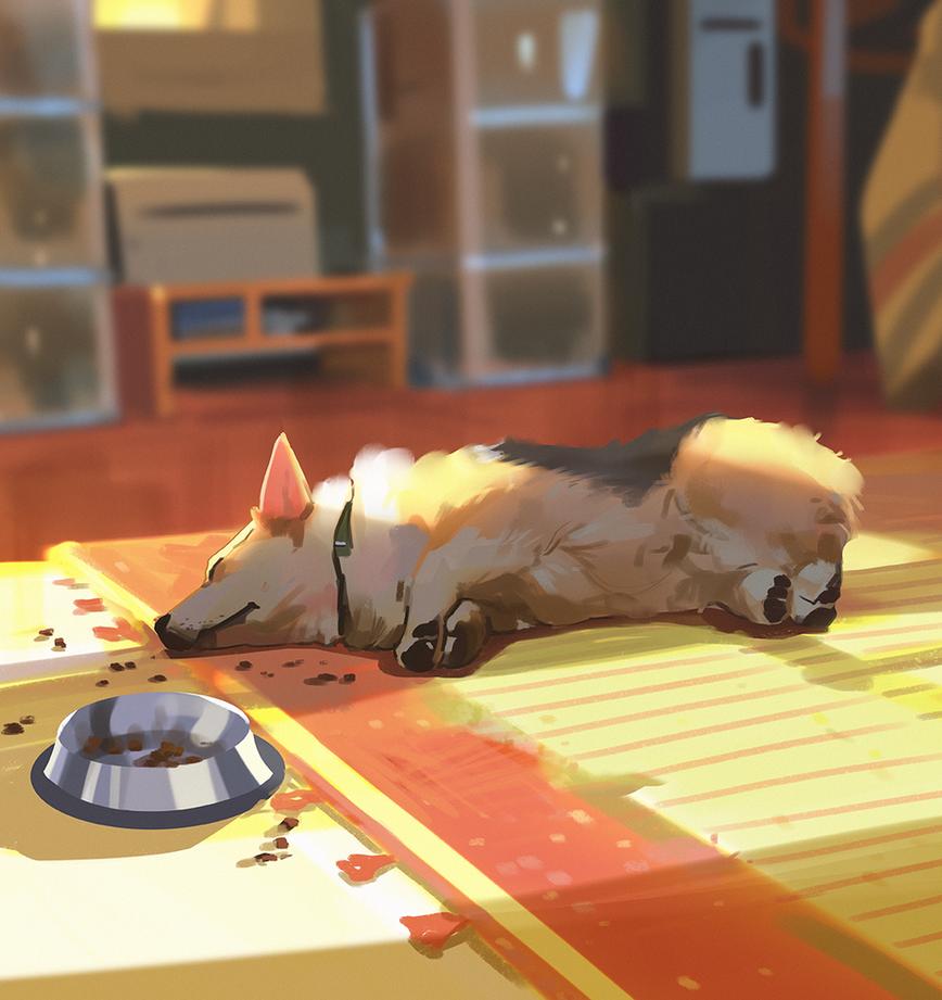 Nap time by snatti89