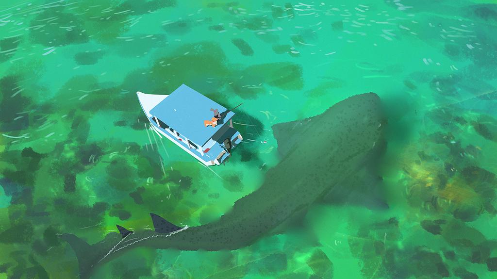 Path of Miranda_Gone Fishing by snatti89