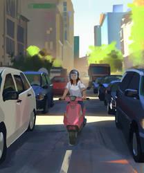 Traffic Jam by snatti89
