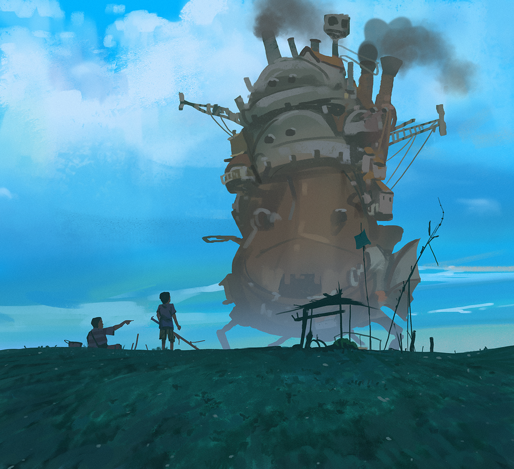 howl moving castle by snatti89