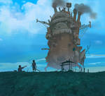 howl moving castle