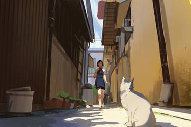 The cat returns by snatti89