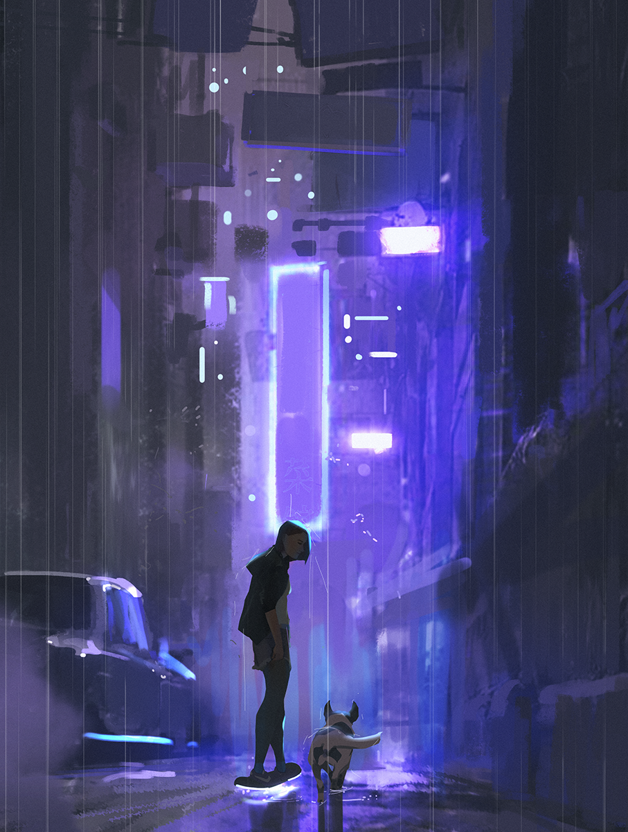 cyberpunk by snatti89