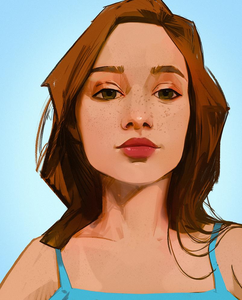 Freckles by snatti89