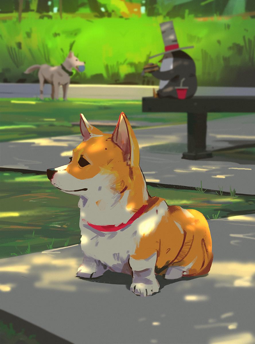 Dogpark by snatti89