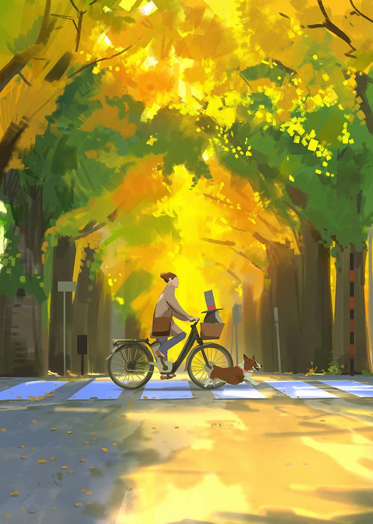 Bikeride with Toki and Ulf by snatti89