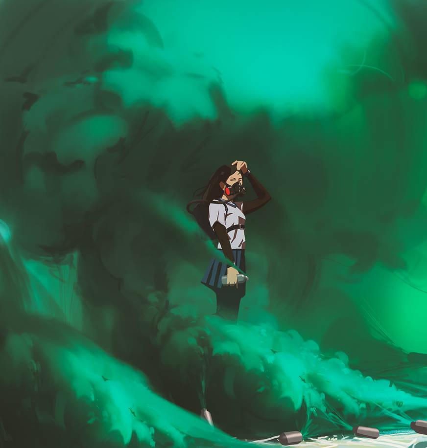 Green smoke by snatti89