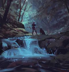 Nightelf Hunter - World of warcraft