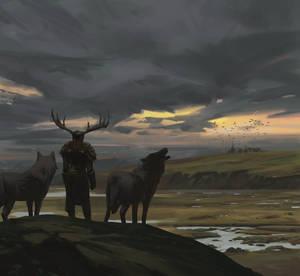 Diablo 4 Druid fanart