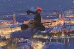 Kiki's winter delivery service