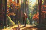 Demo - Autumn forest