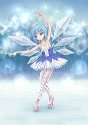 The princess of ice-fairy by usuiou
