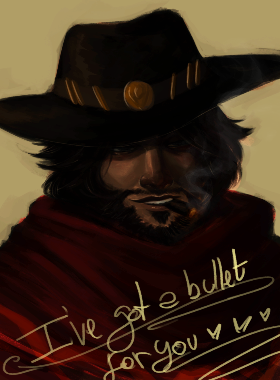 A quick McCree by MaruMun