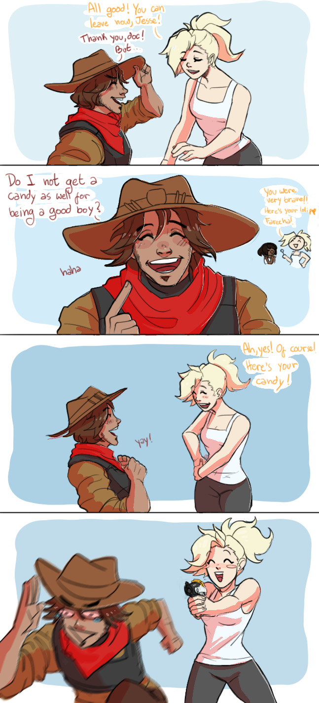 McCree's a good boy by MaruMun