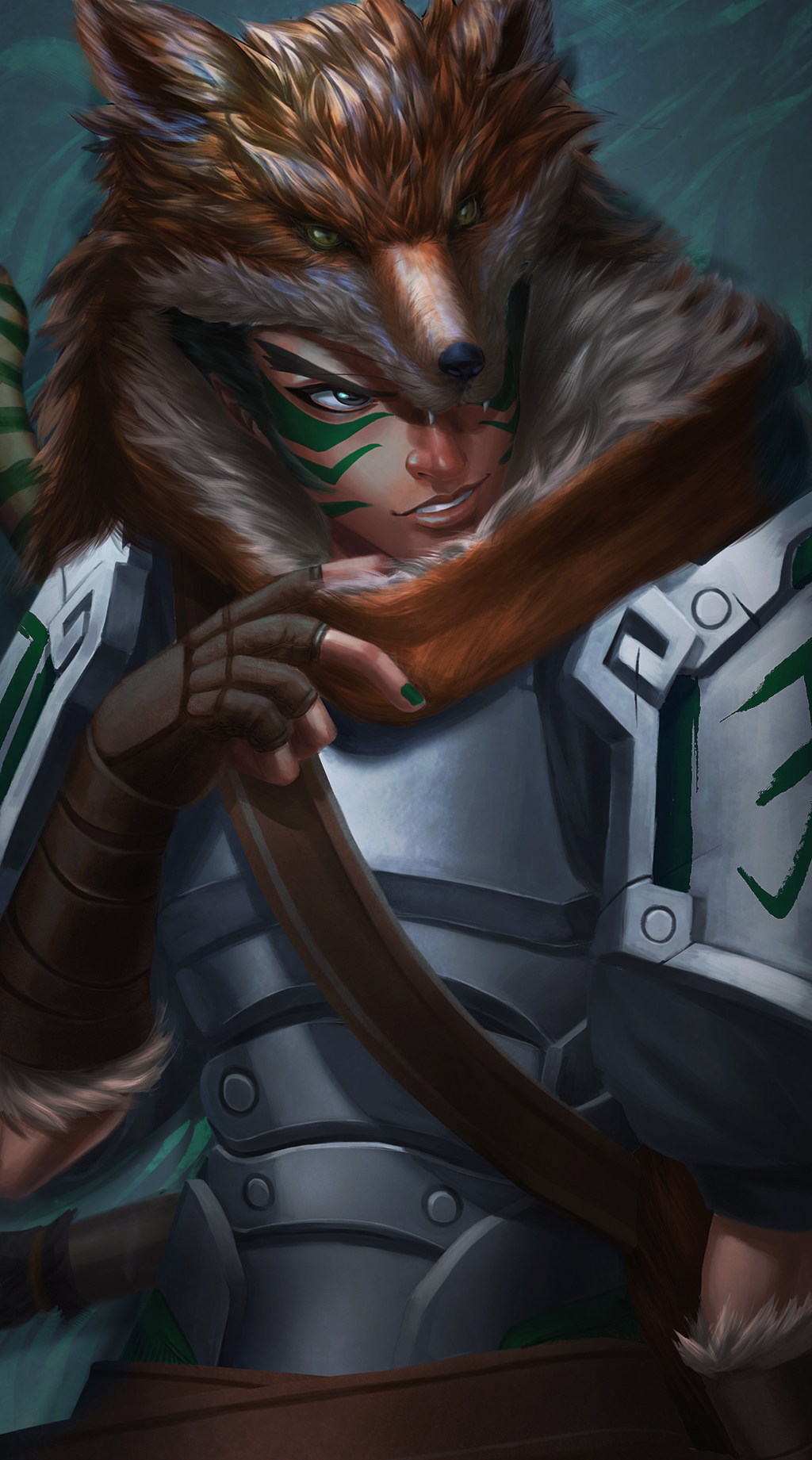 The Exiled Fox by MaruMun