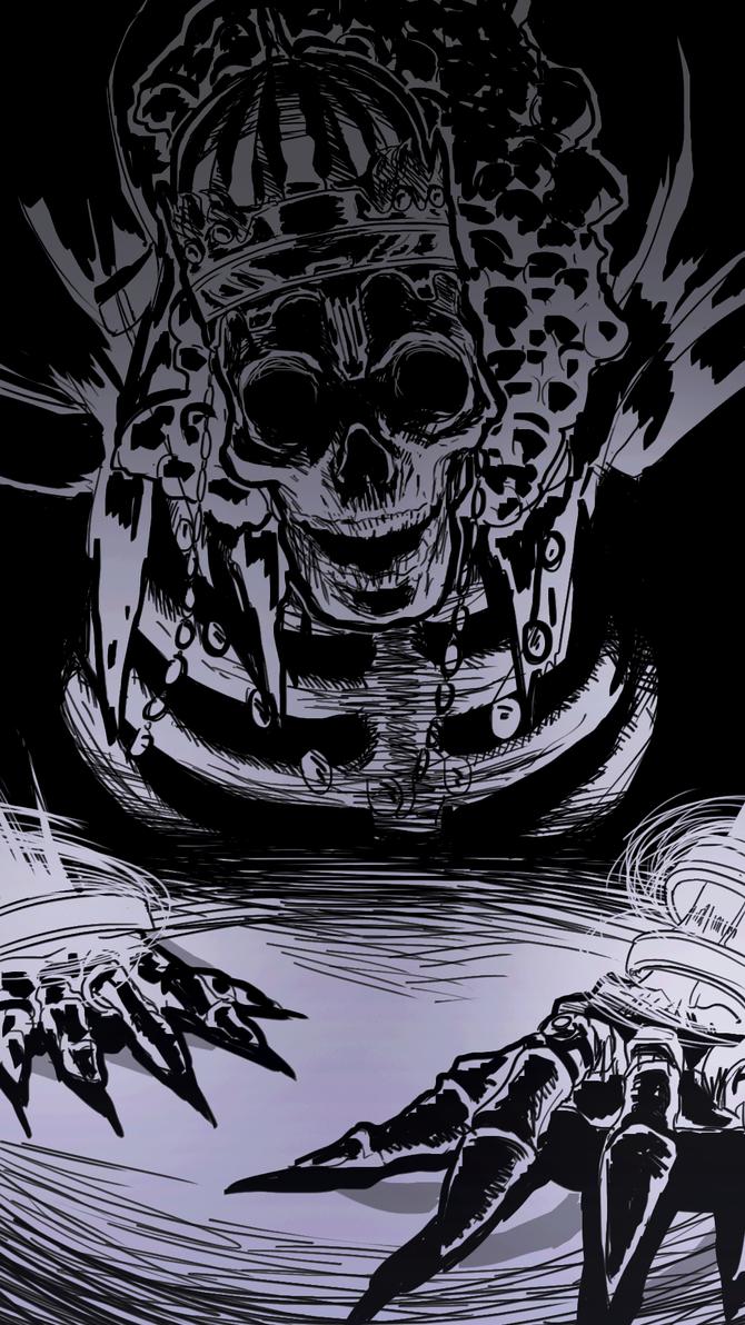 Soulstober 5 -  High Lord Wolnir by MaruMun