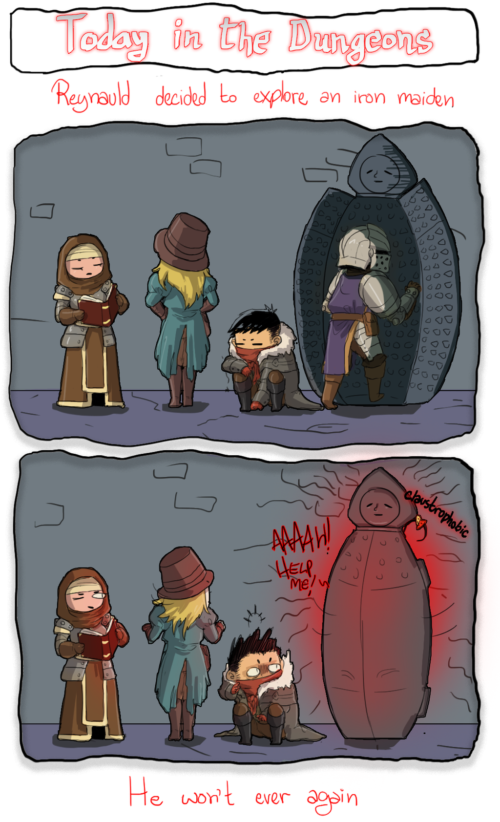 Today In The Dungeons by MaruMun