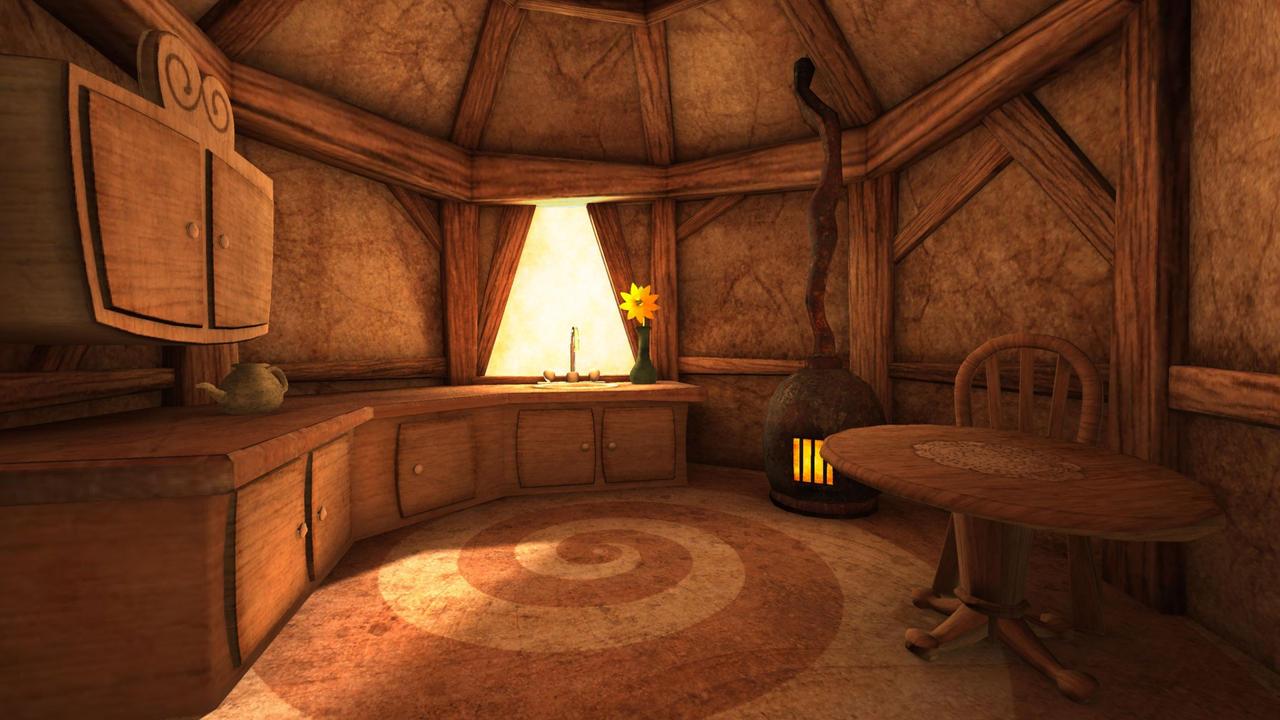 rabbit house kitchen by wrinkledlight on deviantart