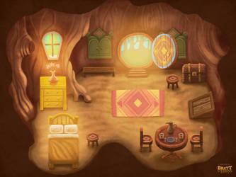 Village of Die Nox - Die Nox House Interior by BrettStebbins