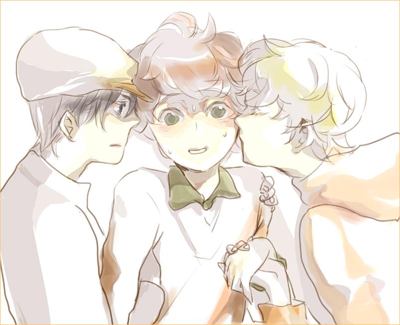 Threesome by Liche1004 on DeviantArt