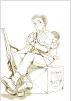 Dean, the sketch by Liche1004