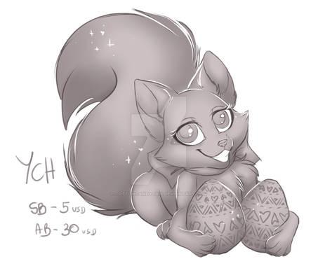EASTER CHIBI FOX YCH - OPEN