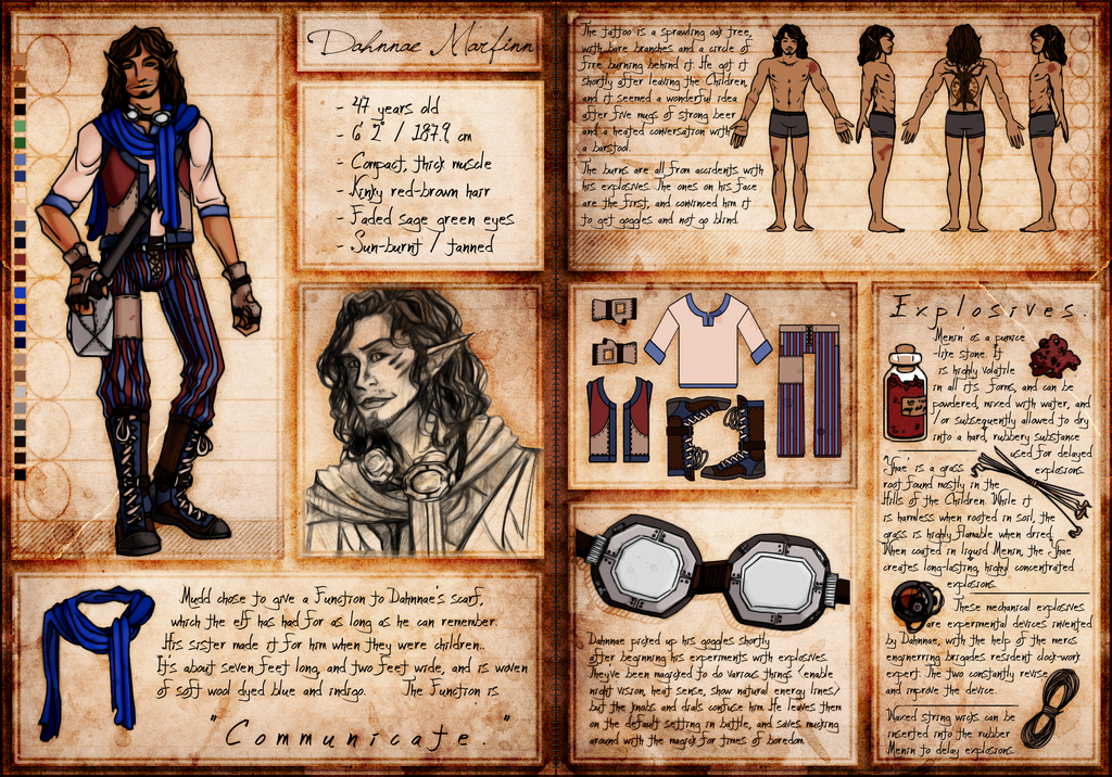 TBOS: Dahnnae Ref Sheet by Conspiracy-Z-Cycle