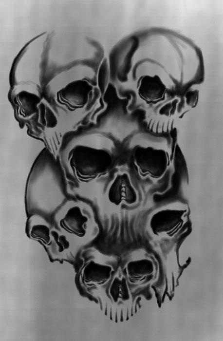 skulls by unibody on deviantart. Black Bedroom Furniture Sets. Home Design Ideas